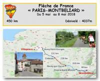 Flèche Paris-Monbéliard - Mai 2018